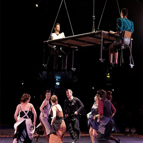 Cabaret Cirque Mesdemoiselles
